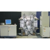 Global view of the 6Axes Test Bench for Planar and Curve Panels