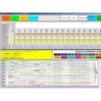 Screenshot del software per generazione segnali